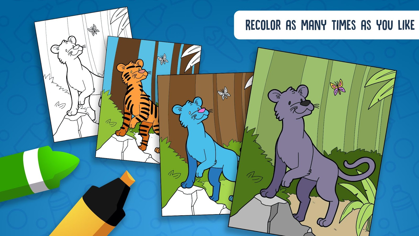 Hellokids Animal Coloring Time- screenshot
