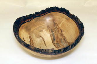 "Photo: Margaret Follas 9 1/2"" x 3 1/2"" bowl [ambrosia maple]"