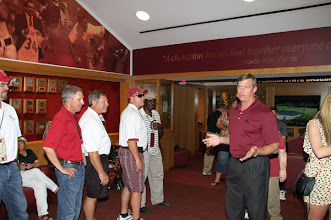 Photo: Baseball Reunion honoring the teams from the 1970s.