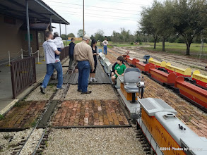 Photo: BOb Barnett assisting riders - HALS Public Run Day 20150321 Bill Smith Photo