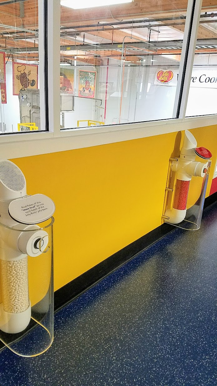 Jelly Belly Factory Tour in Fairfield, California, jelly bean art