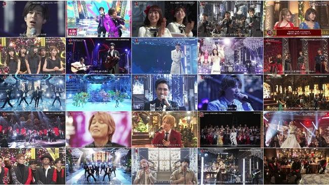 191204 (720p+1080i) 2019 FNS歌謡祭 第一夜 45周年で嵐・相葉雅紀が初司会!全54組72曲