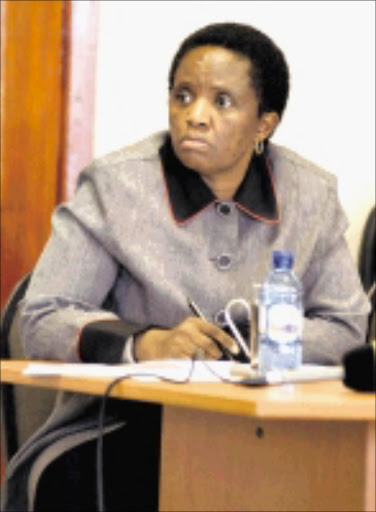 Dr Jabu Dlamini head of Limpopo department of health. Pic. Elijar Mushiana. 07/12/2009. © Sowetan.