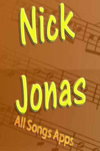 All Songs of Nick Jonas