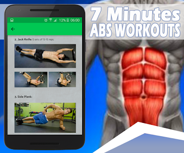 Abs Workout – 7 minutes & 7 days Challenge screenshot