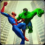 Incredible Monster vs Super Spiderhero City Battle Icon