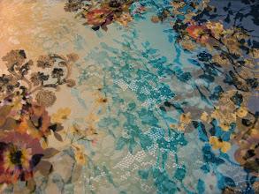 Photo: Ткань:Деворе бархатное нат.шелк ш.140см.цена 3500 руб.