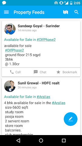 Screenshots for Plabro for Real Estate Agents