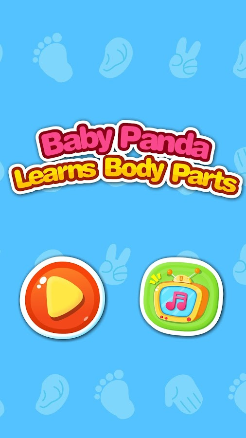 Baby Panda Learns Body Parts- screenshot