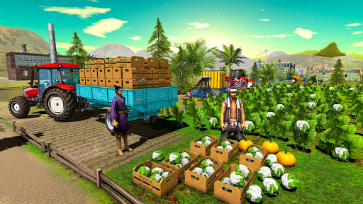 Farming Simulator Game 2018 u2013 Real Tractor Drive 1.4 screenshots 15