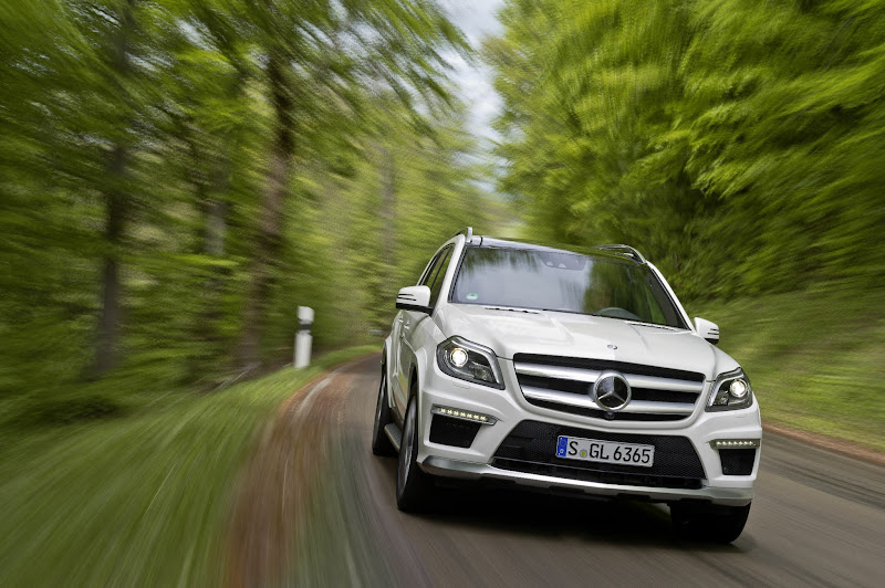 Photo: The all-new 2013 Mercedes-Benz GL63 AMG  European model shown