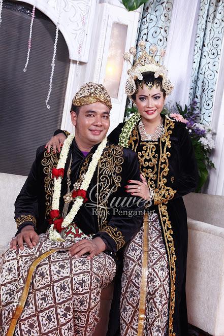 Foto pengantin Jawa