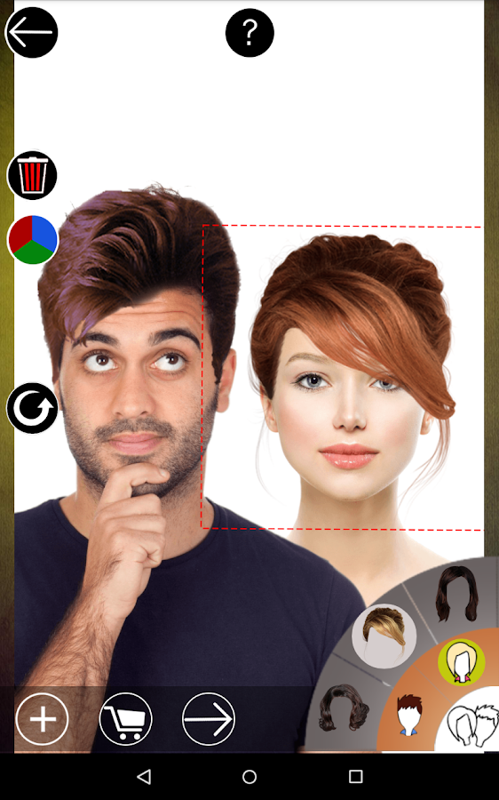 Surprising Hair Style Changer Android Apps On Google Play Short Hairstyles Gunalazisus