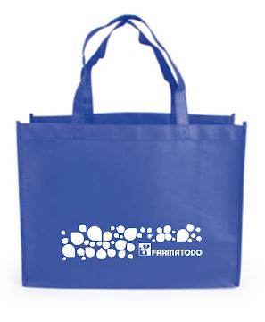 Bolsa Ecológica Pequeña   Color Azul Rey X1UND