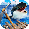 Survival Ocean Raft - Winter Story PRO icon