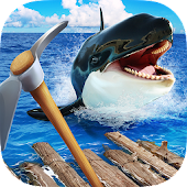 Survival Ocean Raft - Winter Story PRO