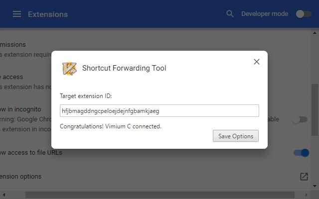 Shortcut Forwarding Tool