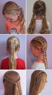peinados para nias fciles screenshot thumbnail peinados para nias fciles screenshot thumbnail - Peinados De Ninas