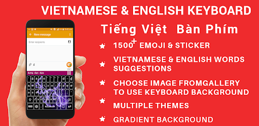 Vietnamese Keyboard 2019,Vietnamese English Keypad