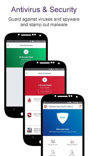 McAfee® Security for Metro® screenshot 1