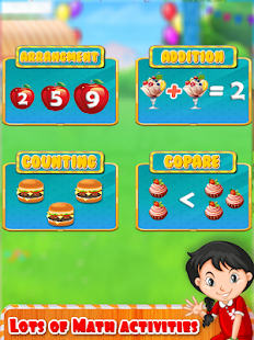 Kids Math Learning: Kindergarten Educational Game Screenshot