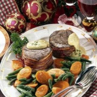 Steak mit Sauce Béarnaise