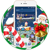 Christmas In 2017, Santa Claus, Elk, Snowman Android APK Download Free By Astonish Themes  Launcher