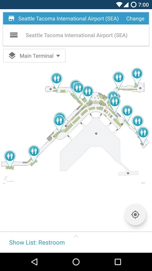 Point Inside Mall & Airport Maps- screenshot