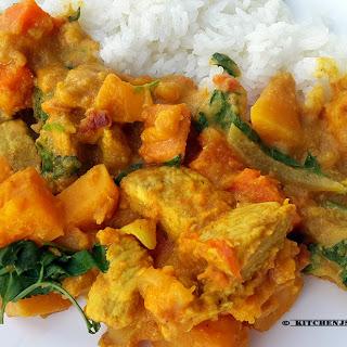 Sweet potato Pork Curry