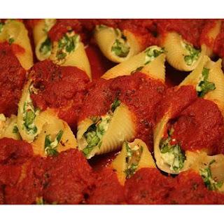 Vegetarian Stuffed Shells