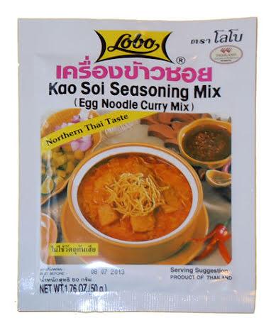 Kao Soi Seasoning Mix (egg noodle curry mix) 50 g Lobo