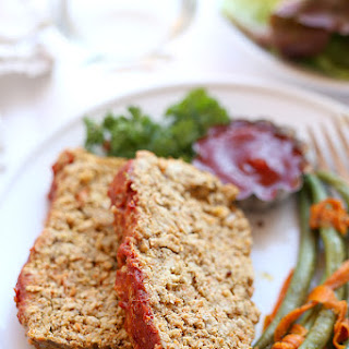Veggie-Packed Turkey Meatloaf