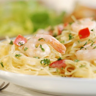 Shrimp Linguine.