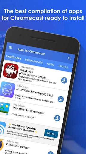 Apps for Chromecast - Your Chromecast Guide 2.10.1 screenshots 2