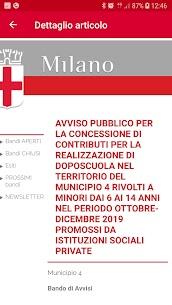 Bandi Comune di Milano 3.0 Mod APK (Unlimited) 3