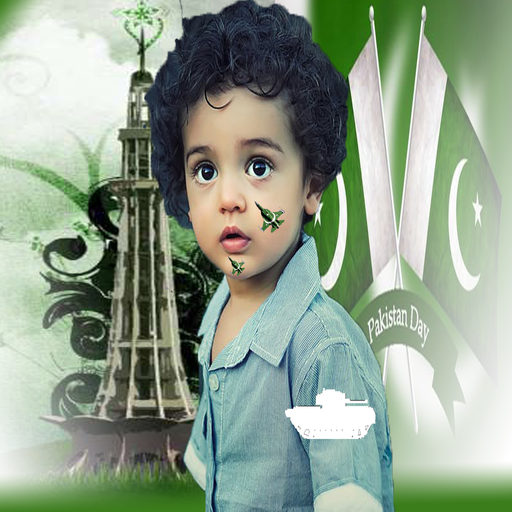 23 March Pakistan Day Photo Frame Editor & Effects
