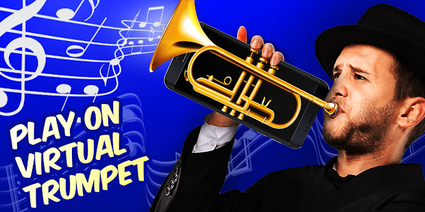 Play on virtual trumpet! - náhled