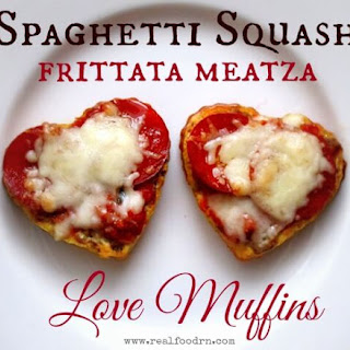 Spaghetti Squash Frittata Meatza Love Muffins