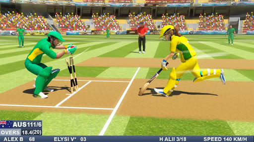 Cricket Games - Boys Vs Girls Cricket 1.4 screenshots 2
