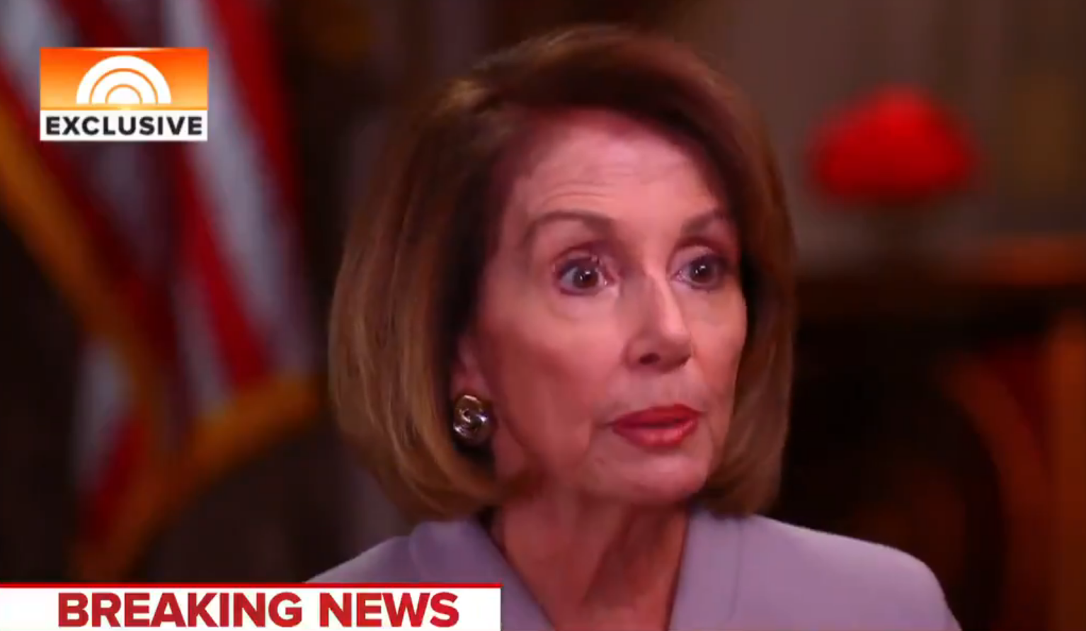Pelosi makes promise to MSNBC about border wall