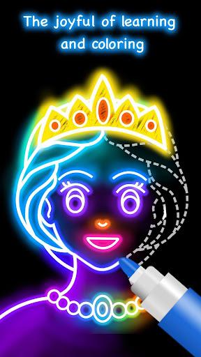 تعلم كيفية رسم لقطات الأميرة 5