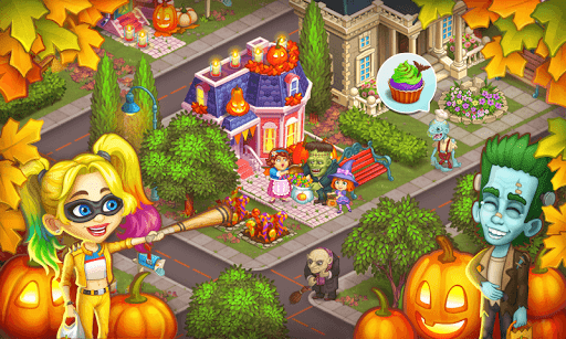 Monster Farm: Happy Ghost Village & Witch Mansion screenshots 23