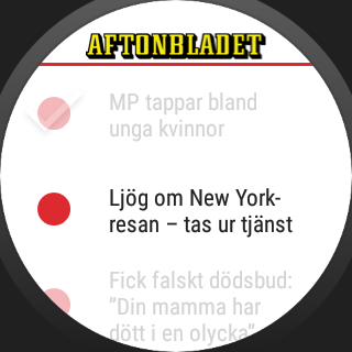 Aftonbladet Supernytt- screenshot