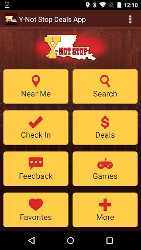 Y-Not Stop Deals App