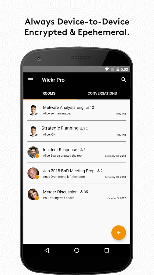 Wickr Me – Private Messenger- screenshot