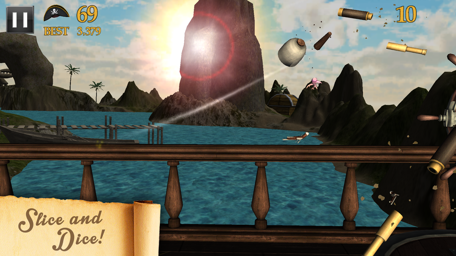 Pirate Bounty- screenshot