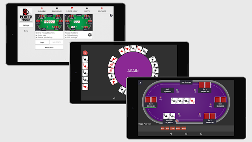 Poker Pocket (Free u2664 Offline u2662 / u2667 Online Casino)  screenshots 8
