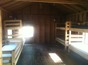 Photo: Inside of a Juniors cabin. In Cottington Woods, this is PC housing.