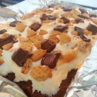 S'mores Milo Brownie