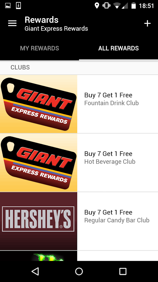 Giant Express Rewards- screenshot